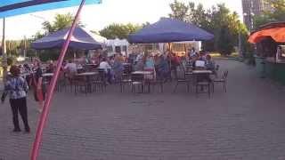 2015 06 27 Карточный домик кафе напротив цирка Красноярск