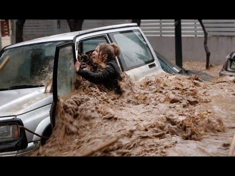 Страшное наводнение в Тбилиси 14 06 2015