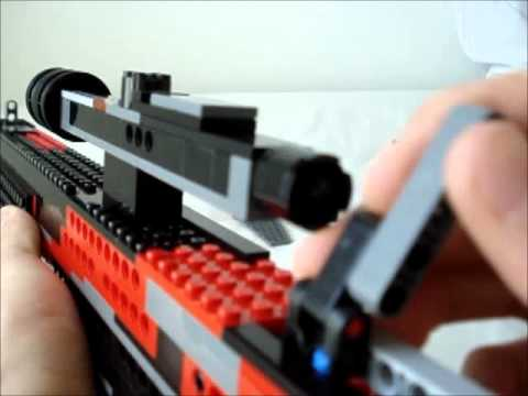 Lego Sniper Rifle Working Youtube