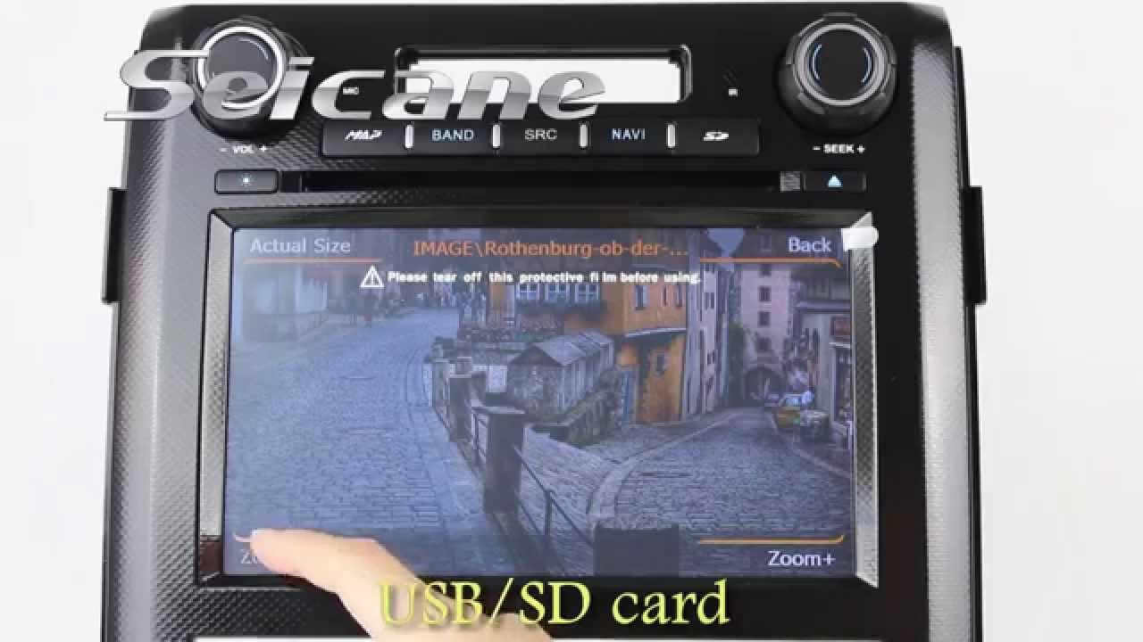 8 Inch 3g Wifi Navigation System Tv Dvd Player For 2009