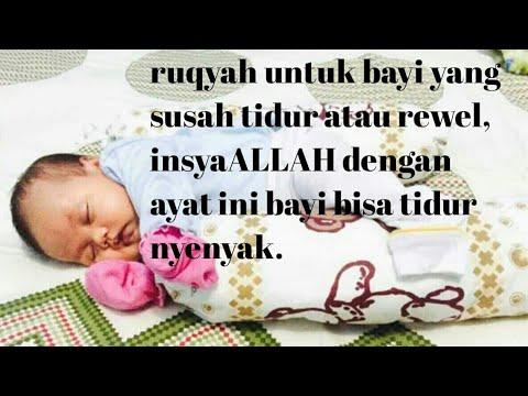 Ruqyah untuk bayi yang susah tidur/rewel, insyaALLAH  bayi nya tidur pulas..