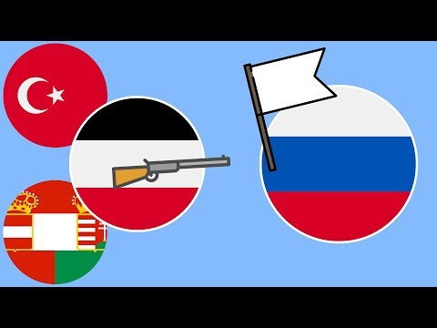 Как россия вышла из 1 мировой войны