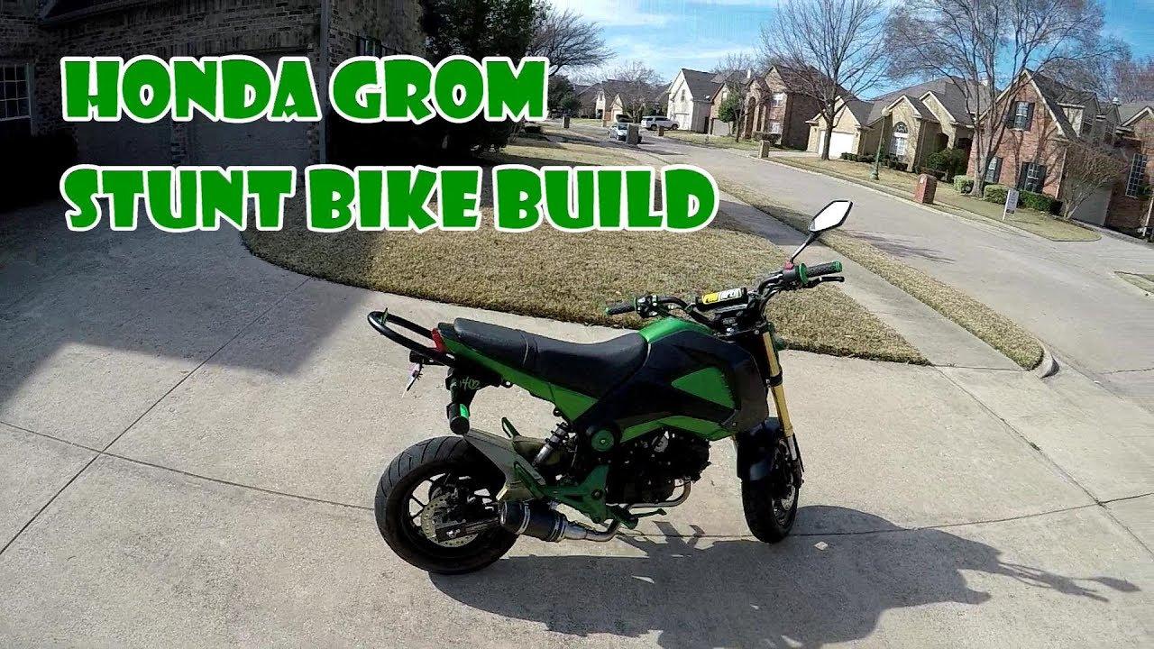 Honda Grom Stunt Build Pt 1