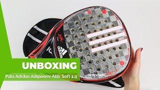 Esquiar Fotoeléctrico Que agradable  Adidas Adipower Attk Soft 1.9 - YouTube