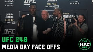 UFC 248 Full Media Day Face Off Highlights
