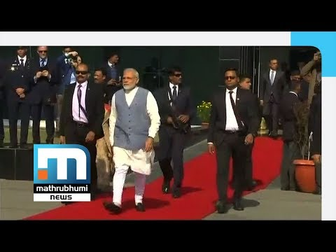 PM Modi Leaves For Palestine, UAE, Oman Visit| Mathrubhumi News