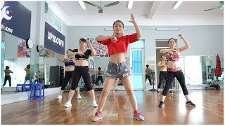 Aerobic Class - 39 minutes workout for beginners // Amg Fitness