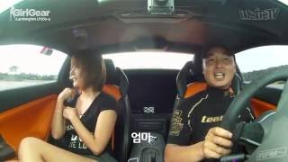 Video Ryu Ji Hye (걸기어) BOOBS bouncing in a Lamborghini download MP3, 3GP, MP4, WEBM, AVI, FLV Desember 2017