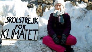 Die 16-jährige Greta Thunberg startete mit
