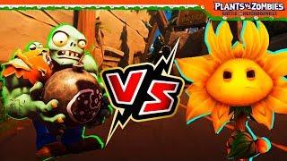 ГАРГАНТЮА VS КОРОЛЕВА ПОДСОЛНУХ 🌻 Plants vs Zombies: Battle for Neighborville Растения против зомби