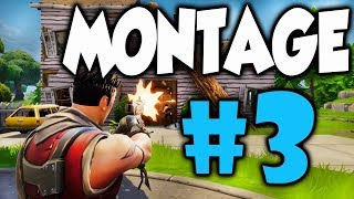 Fortnite (Battle Royale) Funny Random Moments Montage 3
