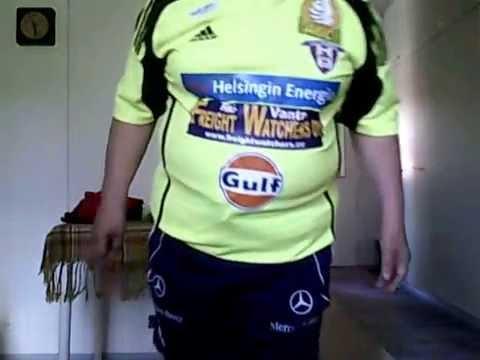 "FC Viikingit/FC Vikingarna från Helsingfors/from Helsinki ""match worn"" 2009."