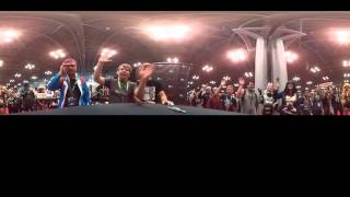NYCC2015 360°: Rooster Teeth Booth Shoutout Ft. Kerry And Gray!