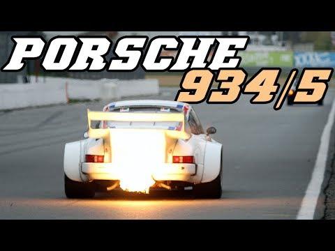 Porsche 934-5 - The biggest flames I've ever seen.