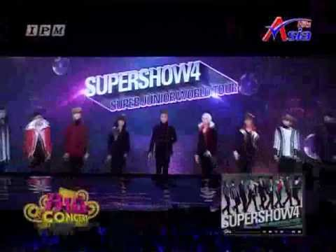 [Asia Hits Big Concert] 120318 Super Junior Super Show 4 in Bangkok