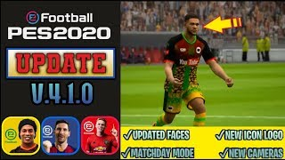 ALL 15 NEW CHANGES IN PES 2020…