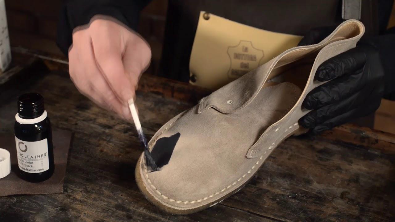 Come cambiare colore alle scarpe in camoscio