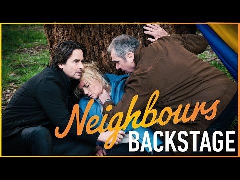 Neighbours Backstage - Alan Fletcher On The Balloon Crash