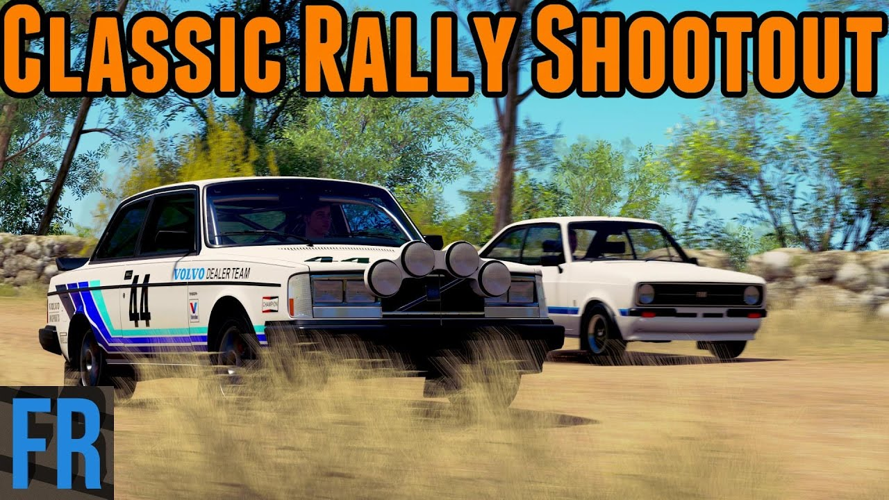 Forza Horizon Challenge Classic Rally Shootout Youtube