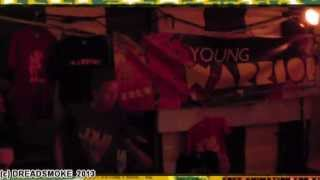 YOUNG WARRIOR FULL SOUND SYSTEM (uk) - shaka dub warrior \ last tune pt1@ irie vibes 26 -07 -2013