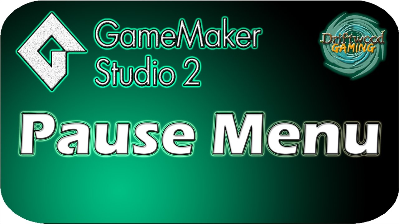 GMS2 Tutorial – Pause Menu With Viewports – GameMaker Studio 2 Tutorial