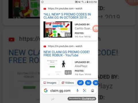Roblox Free Robux Promocode Claim Gg Youtube