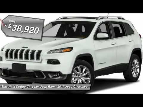 Mac Haik Dodge Temple Tx >> 2017 Jeep Cherokee Temple TX HW596281 - YouTube