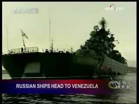 Russian Naval Squadron visits Venezuela