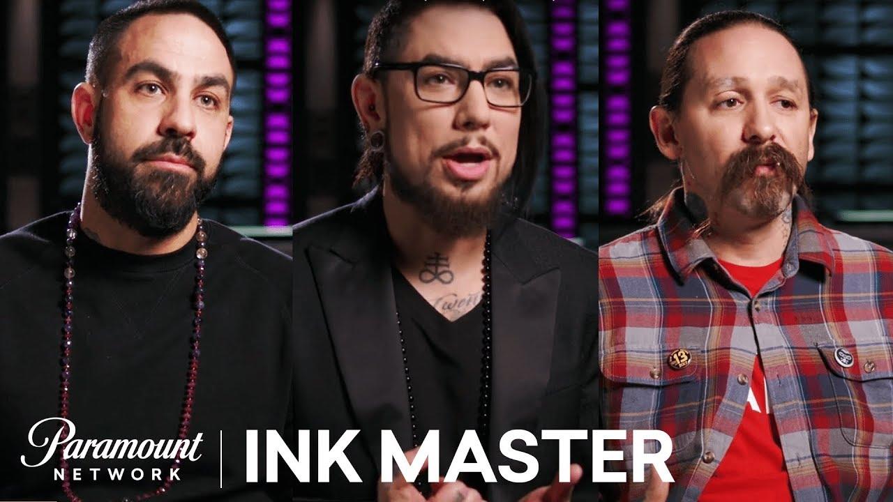Ink master grudge match judges
