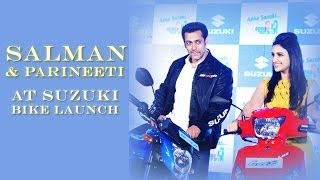 Salman Talks 'Jai Ho' at Suzuki Two Wheeler Launch