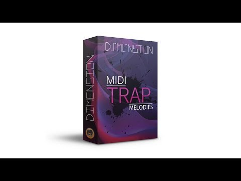 Trap Melody Midi Kit