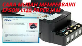 How To Fix Epson Printer Paper Jam