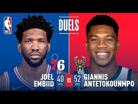 Giannis Antetokounmpo: 'I'd Rather Have Ben [Simmons] Guard Me Than Joel [Embiid]'