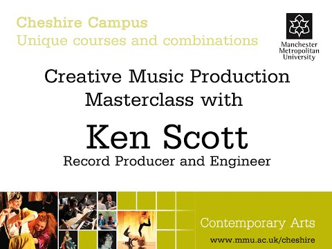 Interview with Ken Scott - Record Producer and Engineer