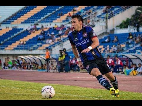 Kayne Vincent #11 Songkhla United 2014 TPL 1st Leg
