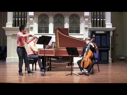 Vidéo : Francoeur Violin Sonata VI in G Minor