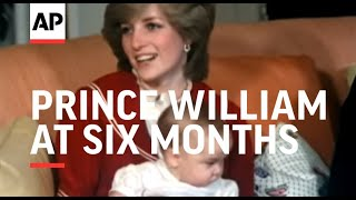 Prince William at Six Months - Photocall - Colour - Sound - 1982