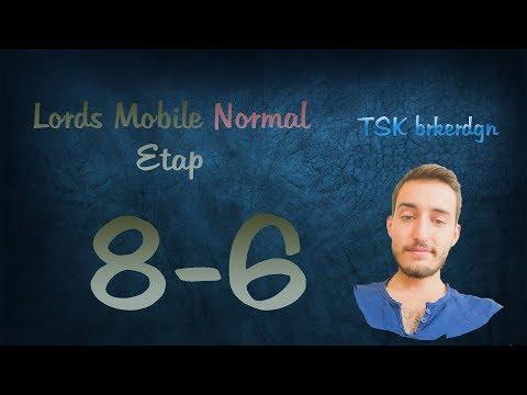 Lords Mobile Normal Etap 8-6