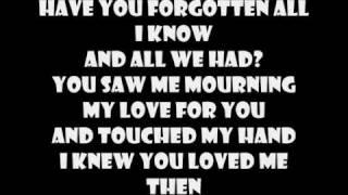 Taking Over Me Evanescence lyrics