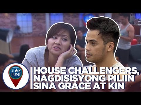 House Challengers, nagdesisyong ipadala sina Grace at Kin sa bahay ni Kuya | Camp Star Hunt