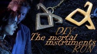The Mortal Instruments Necklace Runes/ DIY