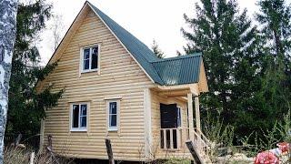 видео Дома из бруса Терем: проекты строительной компании и фото