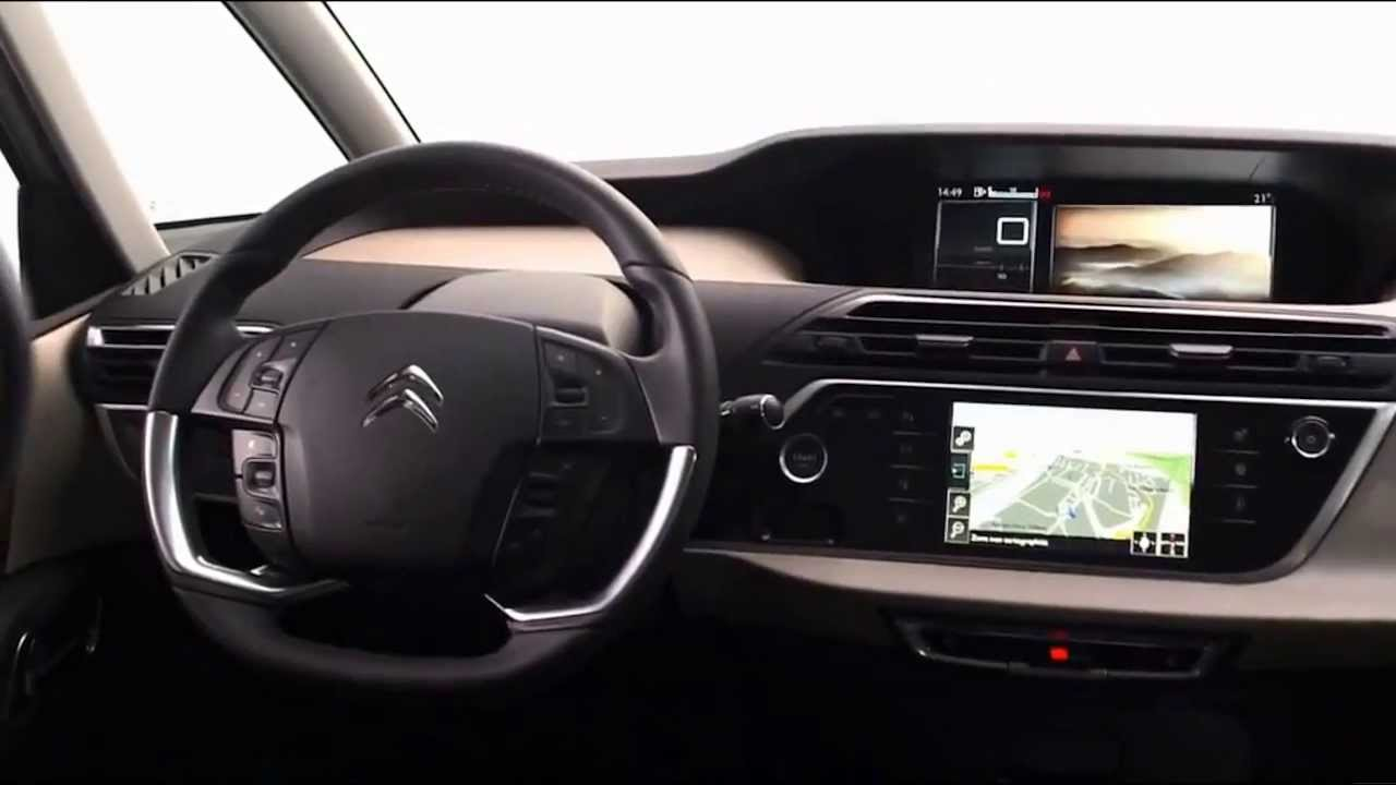 2014 citroen c4 picasso interior w youtube - C4 picasso interior ...
