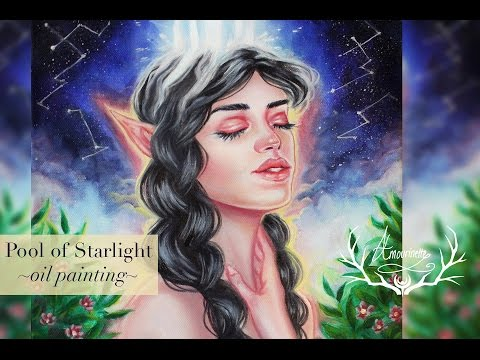 Pool of Starlight (oil painting)