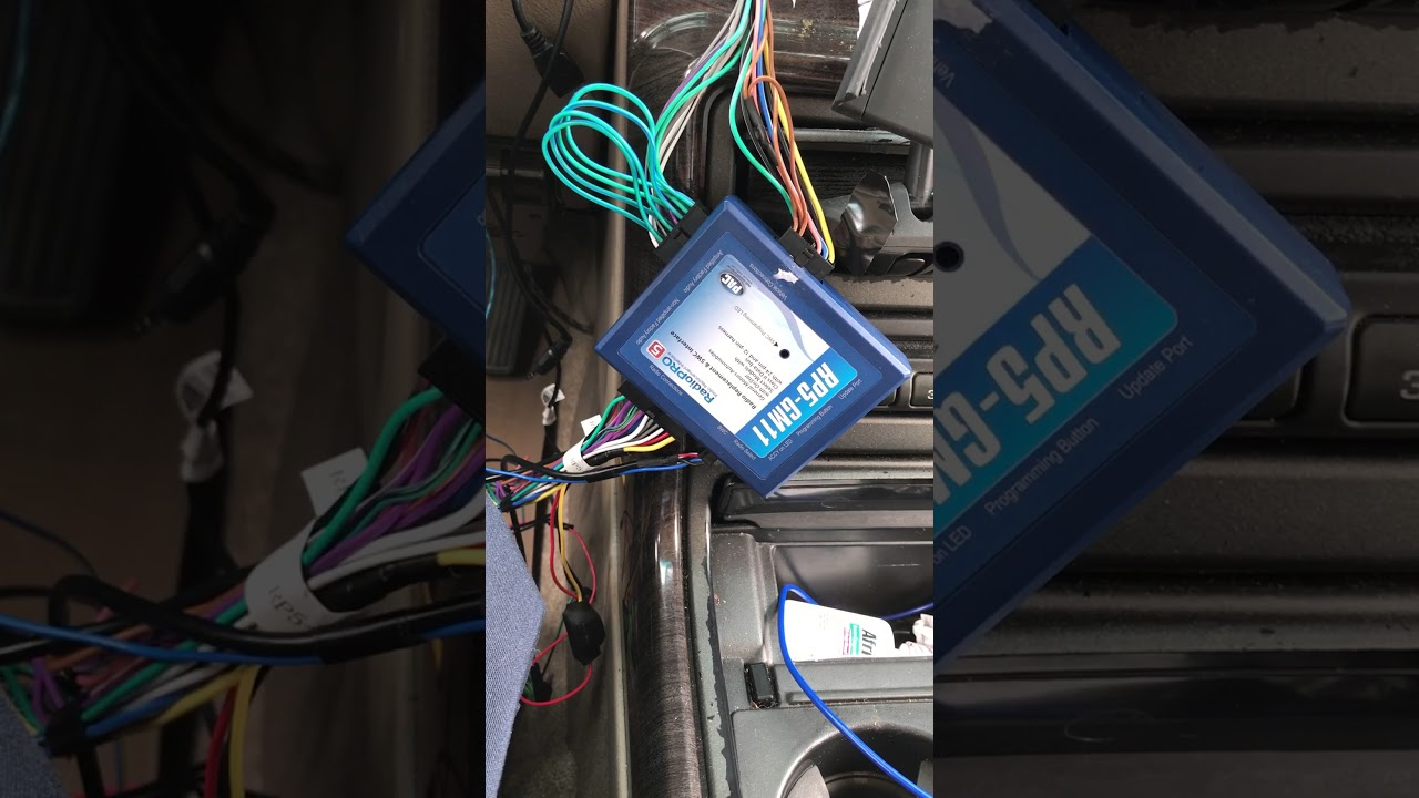 small resolution of pac rp5 gm11 no sound