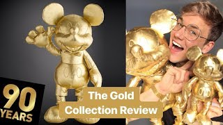 The Gold Mickey Mouse Collection | Review | Plush, Notebook, Clothing, Mug ShopDisney Mickey90