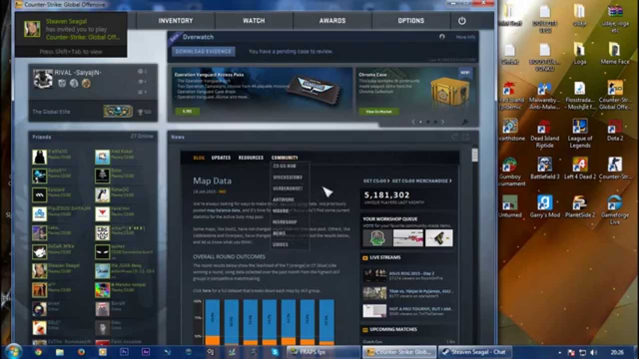 Counter strike global offensive vac problem cs go skins valpers