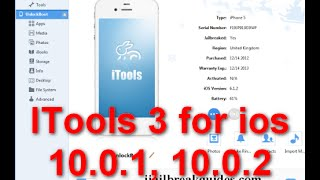 How to Install itool for IOS version 10.0.1 IOS 10.0.2