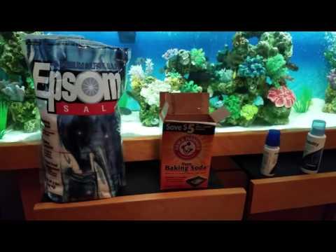 Change Water +MIX Epsom Salt,Baking Soda,Prime,Stability