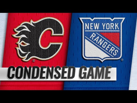 10/21/18 Condensed Game: Flames @ Rangers